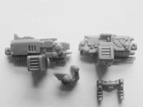 space marines rhino storm bolters